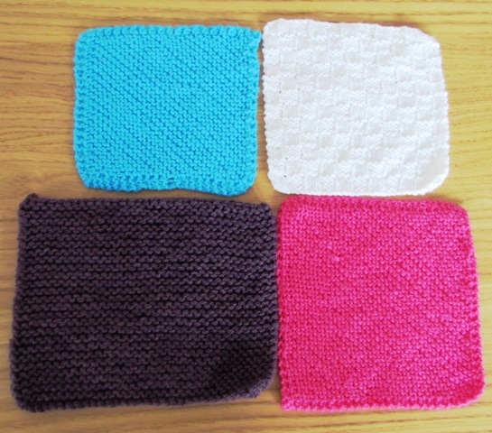 Knitting Squares Is A Good Way To Learn Different Knitting Stitches